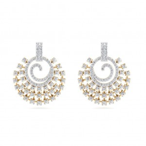 The Swara Diamond Earrings