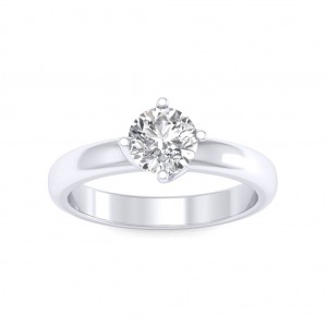 0.25 carat Platinum - Evelina Engagement Ring