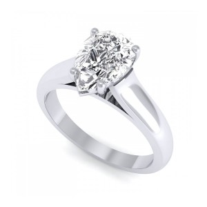 0.30 carat Platinum - Avalush Pear Ring0.30 carat Platinum - Avalush Pear Ring