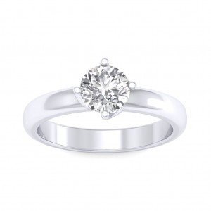 0.40 carat Platinum - Evelina Engagement Ring