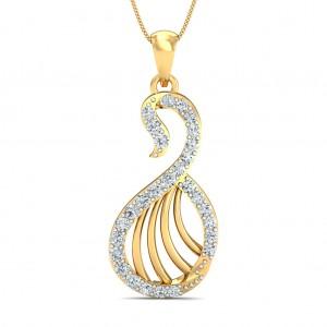 The Arnica Swan Pendant
