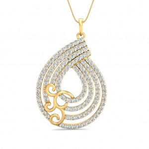 The Ziva Pear Pendant