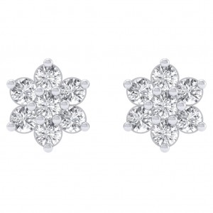 The Diamond Cluster Earrings
