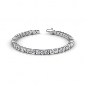 The Dazzling Tennis Bracelet