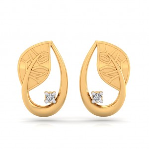 The Regal Leaf Earrings