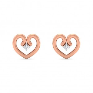 The Simmi Heart Earrings