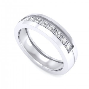 The Porus Ring For Him - Platinum
