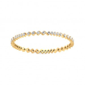 The Evelyn Diamond Bangle