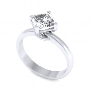 0.40 carat 18K White Gold - Sheryl Engagement Ring