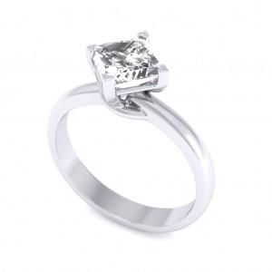 0.70 carat 18K White Gold - Sheryl Engagement Ring