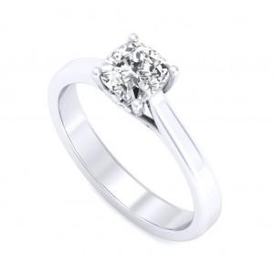 0.70 carat Platinum - Rabia Engagement Ring