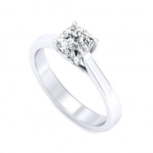 0.50 carat Platinum - Rabia Engagement Ring