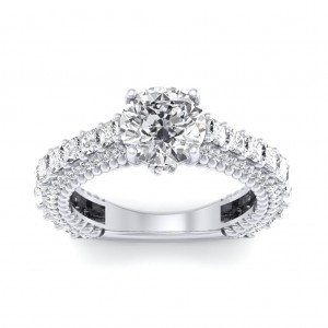 The Nia Solitaire Engagement Ring