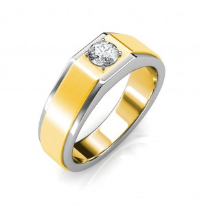 The Gordon ring for him - White - 0.40 carat