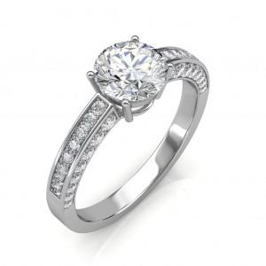 1.52 carat Platinum - Zest Love Engagement Ring