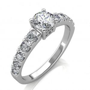 1.90 carat Platinum - True Love Engagement Ring