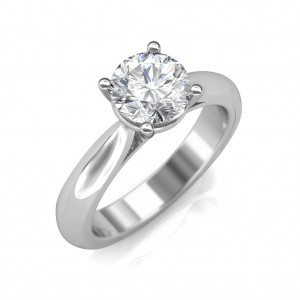 0.50 carat Platinum - Classic Engagement Ring