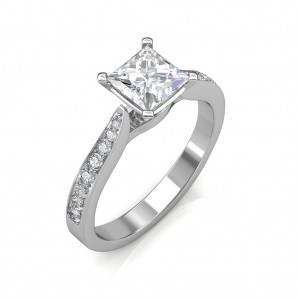 0.44 carat Platinum - Ayesha Engagement Ring