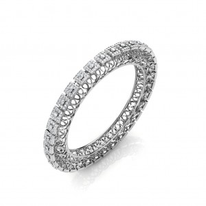 The Swara Diamond Bangle