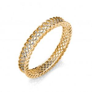The Amira Diamond Bangle