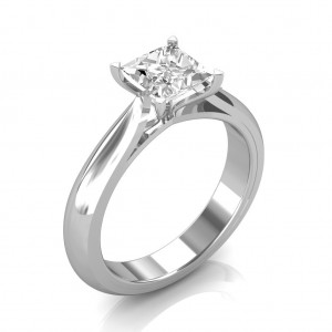 0.70 carat Platinum - Serenity Engagement Ring
