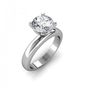 0.94 carat Platinum - Danica Engagement Ring