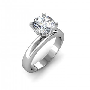0.74 carat White Gold - Danica Engagement Ring