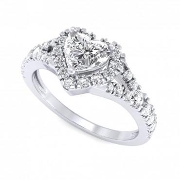 The Jeslyn Heart Ring