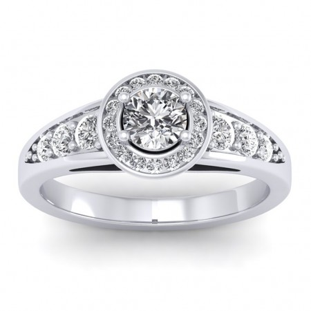 The Azzario Solitaire Ring