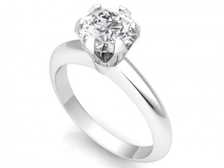 The Classic Six-Prong /Six-Claw Engagement Ring