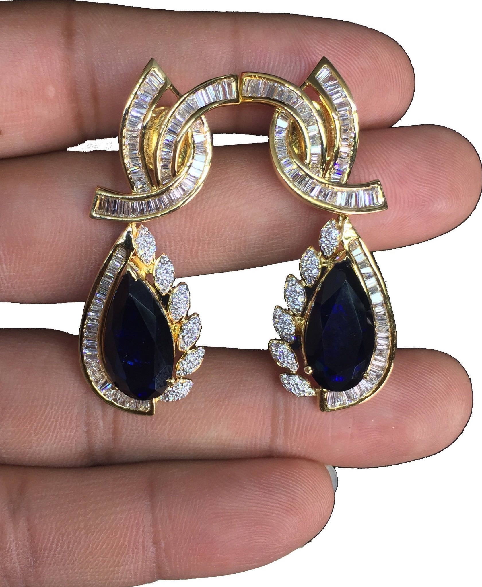 Mix Diamond Earrings