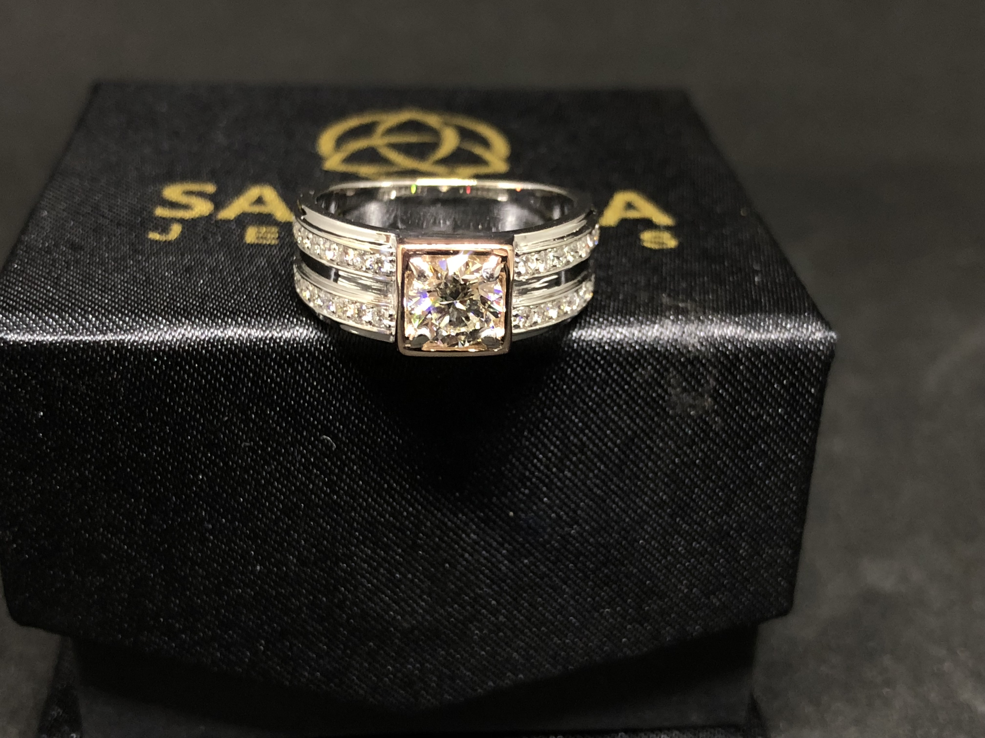 Men's Solitaire Diamond Ring