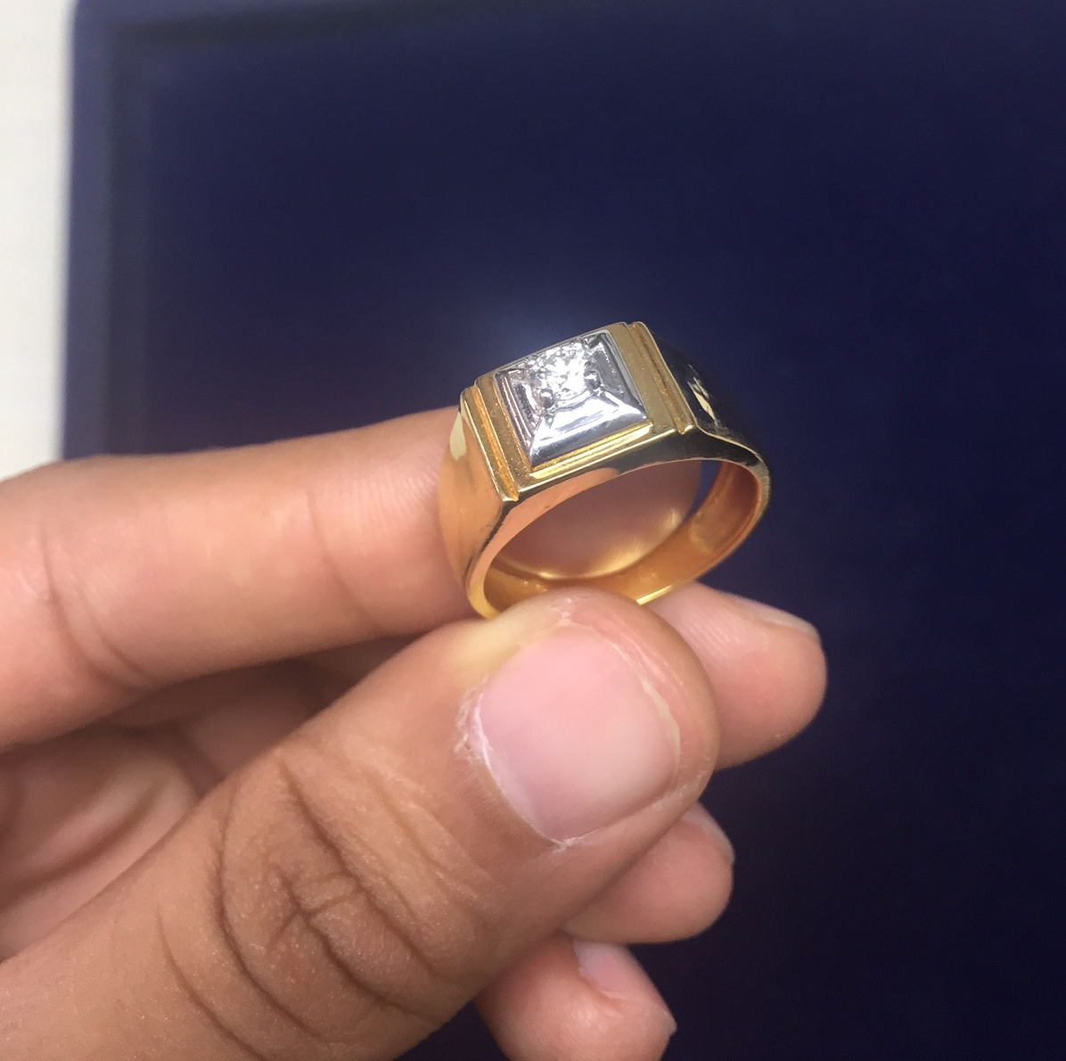 Men's Diamond Ring For Him