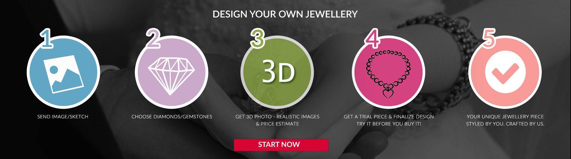 Customized Diamond Jewellery