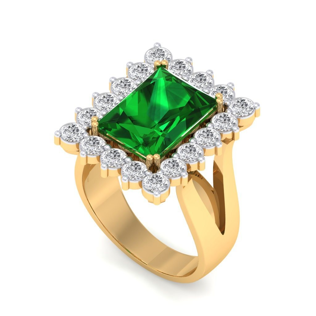 The Celina Emerald Ring