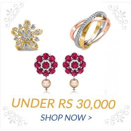 Diamond Jewellery under Rs 30000